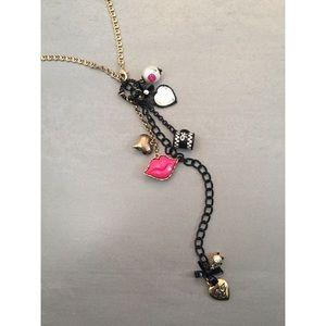 Betsey Johnson long necklace